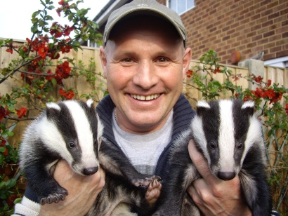 Patron: Mike Dilger (Natural History Presenter). The Essex Badger Protection Group